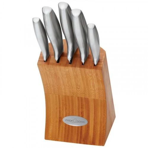 Proficook Tacoma de 5 Cuchillos en acero inoxidable MBS1054